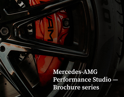 Mercedes-AMG — Brochures for different divisions