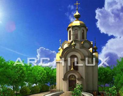 Проект церкви на 60 прихожан