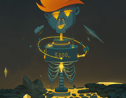 Over think || zombie robot