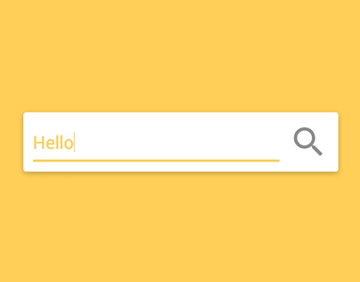 CSS3 + JQUERY - Search Animation