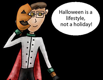 Halloween Charicatures