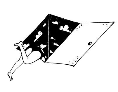 Ilustración para cover book