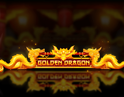 Slot Golden Dragon Art Direction For Gambino Slots
