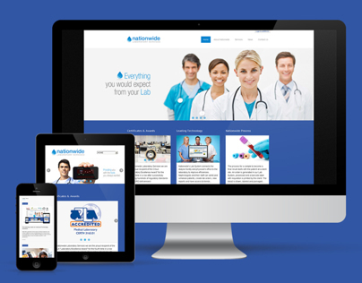 NLS Corporate Website