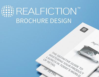 Realfiction - brochure design