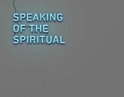 Speaking of the spiritual