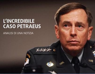 L'incredibile caso Petraeus | Analisi di una notizia