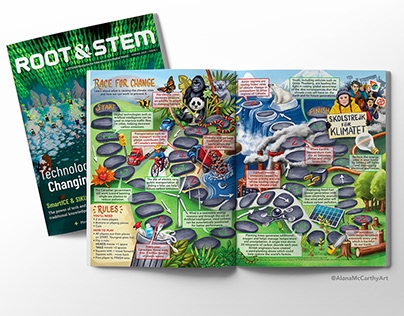 Climate Change Board Game - Root and Stem Magazine