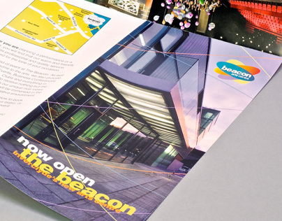 Beacon Arts Centre What's On Leaflet