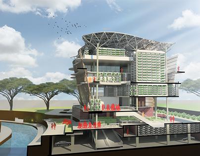Vertical Farming Architecture - Inter-Farm-Market
