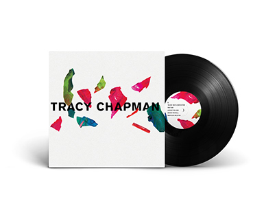 Tracy Chapman Vinyl LP Package Redesign