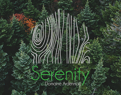 Serenity Domaine Ardennais -logo