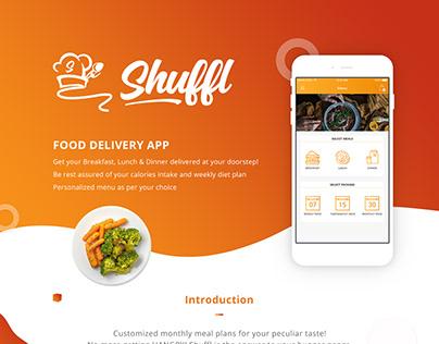 Shuffl - Food App UI/UX Design