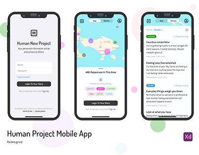 Human Project Mobile App