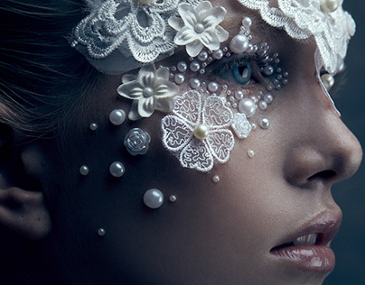 Editorial beauty photography