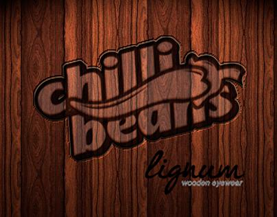 Chilli Beans & Lignum wooden eyewear.