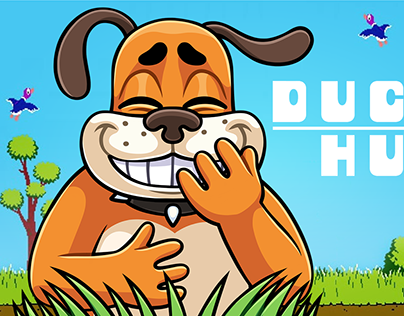 DUCKHUNT DOG. Telegram Stickers — 2018