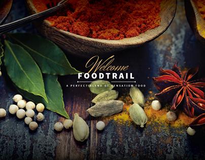 Foodtrail - Website Design