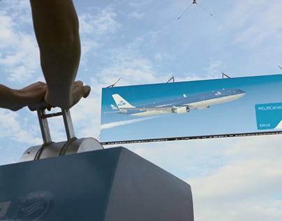 KLM | Flying billboard