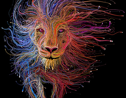 The Lion of Lyon (for Lyon Expo 2015)