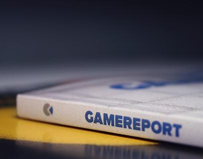 GameReport magazine redesign