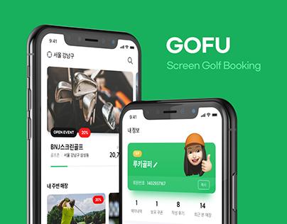 Screen Golf Booking App