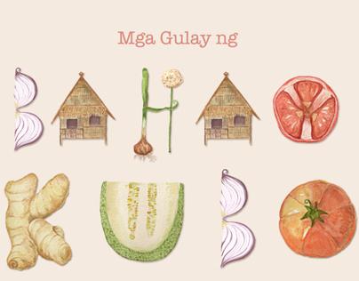 Bahay Kubo  |  Letras y Figuras