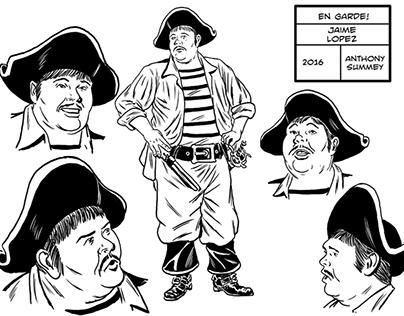 Jamie Jopez En Garde! Character Design