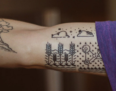 Minimal Tattoo for Dad