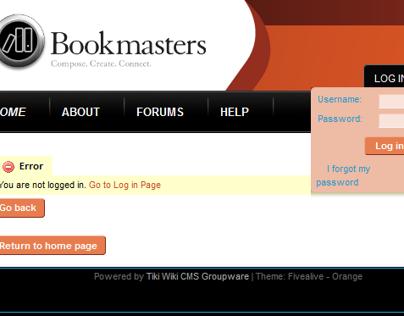 Bookmasters Internal