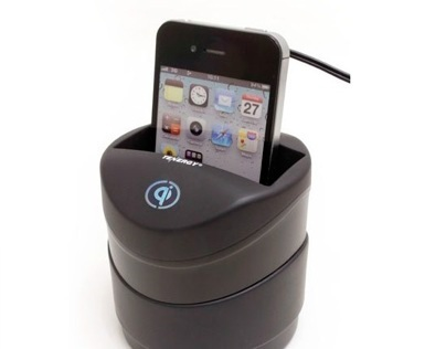 Qi Wireless In-Car Charger