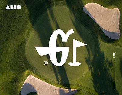 Golfaholic - Brand Identity and T-shirt design