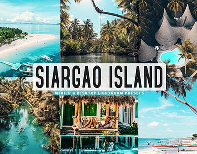 Free Siargao Island Mobile & Desktop Lightroom Presets