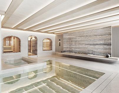 Basement Pool, London UK.