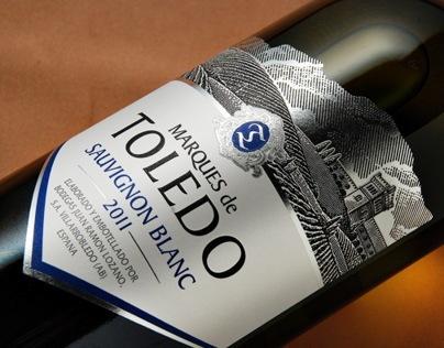 """TM & Label Design for Spanish wines """"Marques de Toledo"""""""