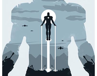 Iron Man Poster Design
