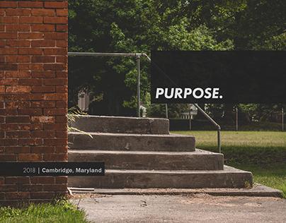 Purpose Clothing Supply - Website + Logo