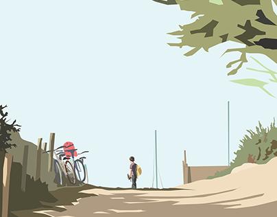 "Illustration - ""Îles"""