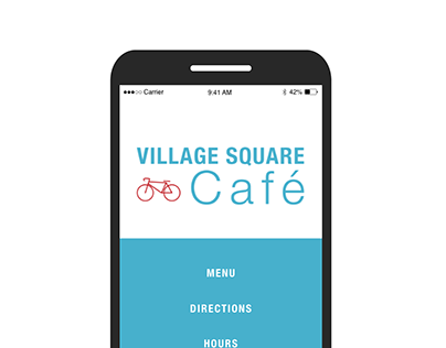 Village Square Cafe Website
