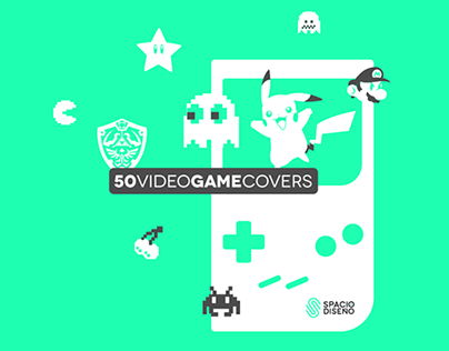50 VIDEO GAME COVERS | SPACIO DISEÑO