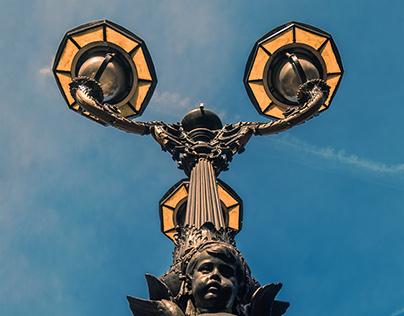 Photography & Retouch - Cherub Lamp