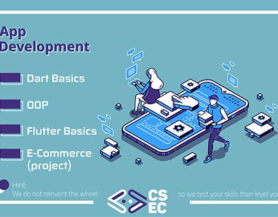 App and web development training posts.