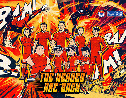 VIETNAM 2021 JERSEY ANIMATION - THE HEROES ARE BACK