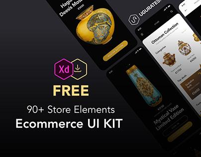 90+Store Elements & Ecommerce FREE UI KIT | Paşabahçe