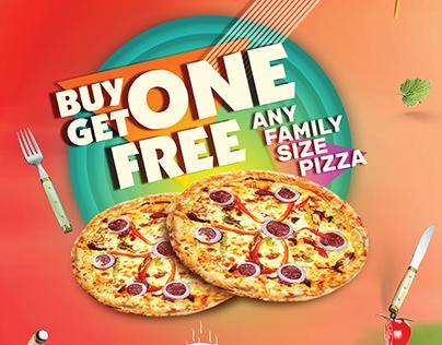 Ad Design for Le Pizzaria : Vol 4
