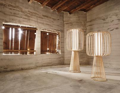 MOOLIN - Bamboo lamps