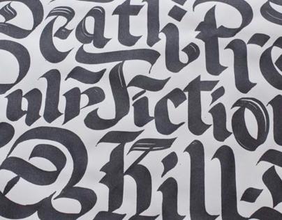 Typographic Sketchbook