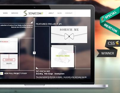 SonicomIT - Corporate Website