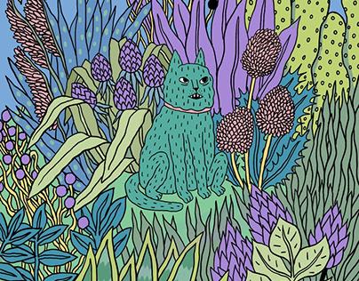 котик в лесах