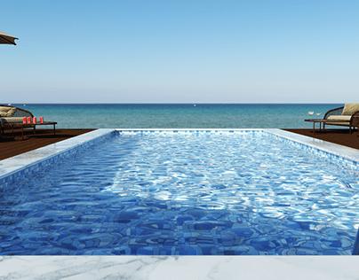 Pool + sea